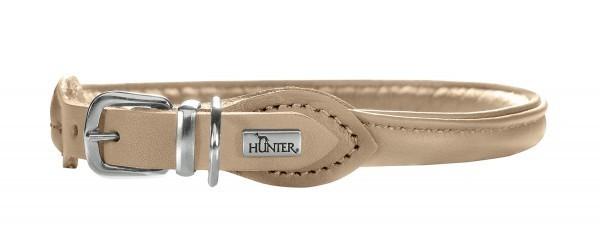 hunter halsband elchleder round soft. Black Bedroom Furniture Sets. Home Design Ideas